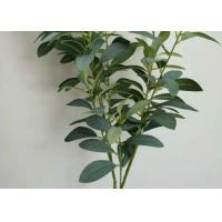 Buy cheap Indoor Outdoor Artificial Tree Branches With Leaves Green Artificial Leaves Plants product