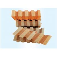 Buy cheap Anti - Wear High Alumina Fire Proof Brick For Furnace Roof 70% Al203 Yellow Color from wholesalers