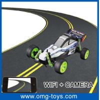 Buy cheap Iphone System 15m/hrs G-sensor Function Remote Wifi Controlled Outdoor RC Cars With Camer from wholesalers
