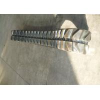 Wholesale Joint Free Mini Caterpillar Tracks , 48mm Pitch Rubber Tank Tracks 250 X 48 X 72 Size from china suppliers