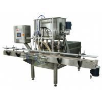 Buy cheap High Accuracy Piston Bottle Filler / Large Pharmaceutical Filling Machine from wholesalers