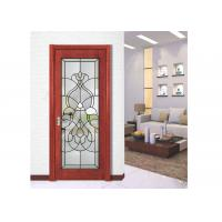Buy cheap Polished Hollow Structure Durable Clear Beveled Glass Panels For Window / Door / Curtain from wholesalers
