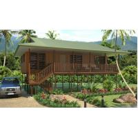Buy cheap Light Steel Framing Wooden Bungalow /  High Acoustic Insulation Home Beach Bungalows from wholesalers