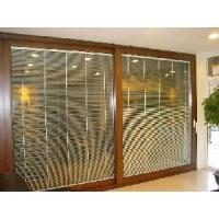 Buy cheap Aluminium Sliding Door with Automatic Shutter (JN148) from wholesalers