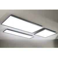 Buy cheap No Strobe Deckenleuchte Led Panel With 4000lm / W Luminous Efficiency from wholesalers