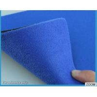 3MM - 7MM SBR Rubber Chemical Resistance With Shiny Terry Nylon Fabric Manufactures