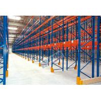 Buy cheap Blue Orange Industrial Galvanised Pallet Racking Shelves Material Handling Racks from wholesalers