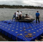 Buy cheap Floating docks Plastic floating pontoon for Marinas, jetty,pontoon bridge from wholesalers