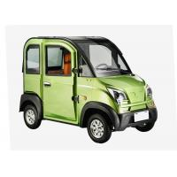 Buy cheap Disc Brake Steering Wheel Economic Electric Cars , 1200W 3 Seats Small Electric Cars from wholesalers