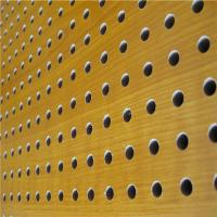 Buy cheap KTV Perforated Wood Acoustic Panels MDF Soundproof Acoustic Board from wholesalers