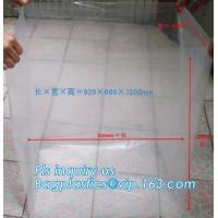 Buy cheap Disposable PE Plastic Pallet Covers bag on Roll, Waterproof Pallet Cover Plastic PE for Europallet 80x120x250 cm, BAGEAS from wholesalers