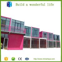 Buy cheap prefabricated shipping container house hotel room design prices for sale from wholesalers