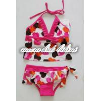 Buy cheap Heat printed loverly girls bikini kids swimwear fashion grils underwear from wholesalers