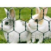 Buy cheap Home Depot Chicken Wire Netting , Green Coated Chicken Wire Fencing For Zoos from wholesalers