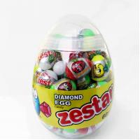 Wholesale 6g Diamond and Dinosaur Egg Shape Healthy Hard Candy ,Healthier Lollipop with good price from china suppliers