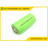 Buy cheap SC Nickel Metal Hydride 1.2 V Rechargeable Battery 3000mah Lithium Cylindrical from wholesalers
