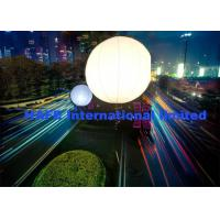 Buy cheap 800w Dual White 80000Lm Moon Balloon Light Mounted On Tripod Or Truss from wholesalers