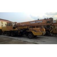 Buy cheap Original Color Used Kato Crane For Sale , 16 Ton NK160E Import From Japanese Manufacure from wholesalers