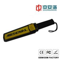 High Precision Body Inspection Handheld Metal Detector For Railway Security Manufactures