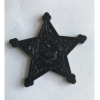 Buy cheap Custom stamping engraved brass Dyed black metal USN Challenge Coin from wholesalers