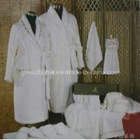 Buy cheap 100% Cotton Toweling Bathrobe from wholesalers