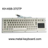 Buy cheap 70 Keys Industrial Computer Keyboard Internet Friendly Key Layout With Touchpad from wholesalers