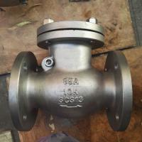 Buy cheap JIS flange swing check valve 10k stainless steel dn50 flange end from wholesalers