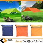 Buy cheap 210T nylon fabric Ultralight Sun Shelter Camping Mat Beach Tent Pergola Awning Canopy 190T Taffeta Tarp Camping Sunshelt from wholesalers