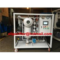 Buy cheap transformer oil filter machine,Transformer oil purifier ,safety device, Vacuum Dielectric oil processing rig,Low price from wholesalers