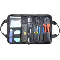Buy cheap Variety Convenient Black Fiber Optic Hand Tool Bags / Fiber Termination Kit With Zipper from wholesalers