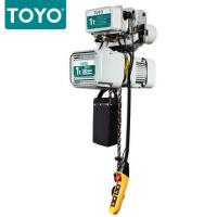Buy cheap TOYO KD-1 Aluminum Body Three Phase 380V Electric Chain Hoist Hook Suspension Type from wholesalers
