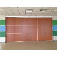 Buy cheap Thickness 65mm Sliding System Removable Wall Partition / Exhibition Acoustic Room Divider from wholesalers