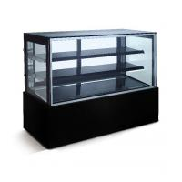 Buy cheap Marble Base Refrigerated Bakery Display Case With LED Lights For Pastry And Cafe from wholesalers