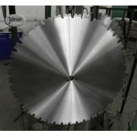 Buy cheap Wall Saw Diamond Saw Blades 760mm for refinorced concrete, 42segment , fast product