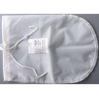 Buy cheap Food Grade Commercial Polyester Felt Filter Bag Mesh Drawstring Big Size from wholesalers