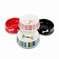 Wholesale Melamine Dog Bowls, Available in Eight Sizes from china suppliers