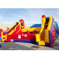 Buy cheap Interactive Giant Inflatable Battle Zone Jousting Game Arena 10 X 8.5 X 5 M product