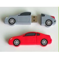 Wholesale Cool Plastic USB Flash Disk , Blue / Pink / Orange / Car Usb Stick from china suppliers