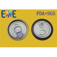 Buy cheap Custom Made 202# 52mm Canned Food Lids , Tinplate Easy Open Can Caps from wholesalers