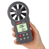 Buy cheap WT87A LCD Digital Anemometer thermometer anemometro Wind Speed Air Velocity Temperature Measuring with Backlight from wholesalers