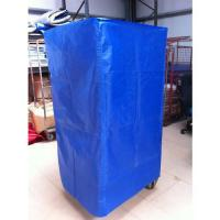 Buy cheap 210D Blue Coated Polyester Cover Customized Size For Roll Cage Trolley from wholesalers