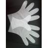 Food grade handling Clear large size TPE Gloves , disposable medical gloves Manufactures