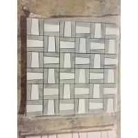 Buy cheap Dolomite White Marble Mosaic Stone Mosaic for Home Decorations New Design Dolomite White marble mosaic for backsplash from wholesalers