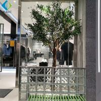 Wholesale Durable Faux Olive Plant , Artificial Olive Green Tree For Shop Window Decorate from china suppliers
