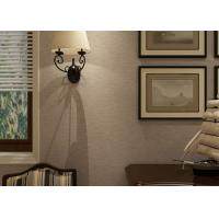 Buy cheap Eco - friendly Embossed Vinyl Home Decorating Wallpaper For Living Room from wholesalers