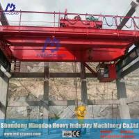 Buy cheap Radio Remote Controlled Double Speed Type Electric Hoist 50 Ton Overhead Crane Price from wholesalers