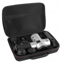 Buy cheap Thermoformed EVA Massage Gun Case , Zipper Hard Storage Carrying Case from wholesalers