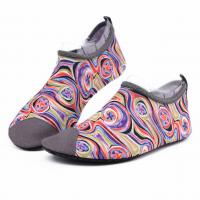 Buy cheap Van Gogh Style Aqua Water Shoes / Protective Barefoot Slip On Swim Shoes from wholesalers
