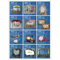 Buy cheap Factory supply zinc alloy metal souvenir picture frame for decoration from wholesalers