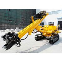 Buy cheap Rotary Construction / Anchor Drilling Rig Crawler Mounted 150m Drilling Capacity from wholesalers